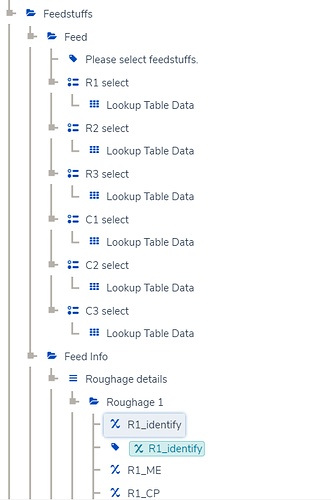 Lookup Table mutiselect